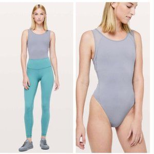 Lululemon Seek The Heat Bodysuit Lilac Stone